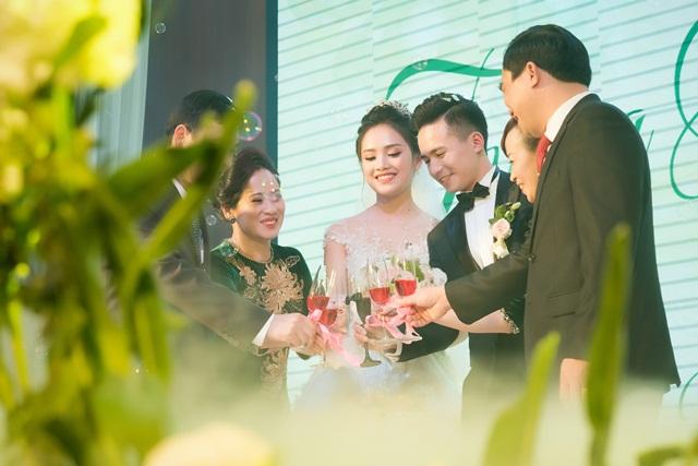 gia đình ngày cưới